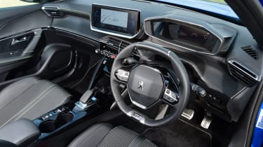 Peugeot e-2008 SUV dashboard