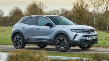 2021 Vauxhall Mokka - front 3/4 static