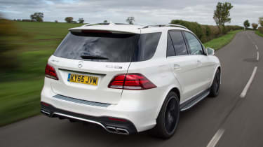 Despite its sporty character, the GLE 63 is a relatively practical proposition