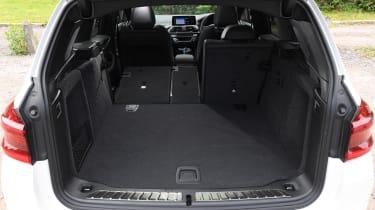 BMW iX3 SUV boot