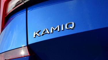 Skoda Kamiq SUV rear badge