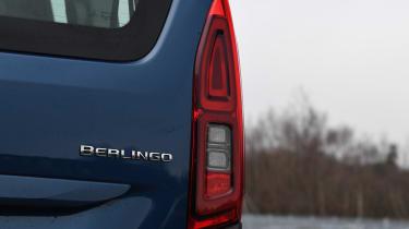 Citroen Berlingo MPV rear lights