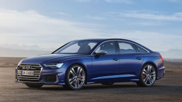 Audi S6 Saloon - front