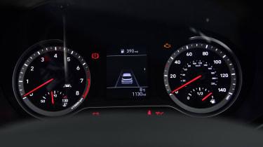 Hyundai i10 hatchback dial cluster