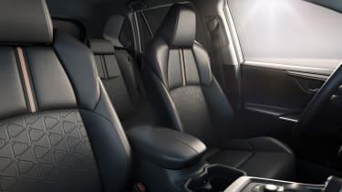 Toyota RAV4 Adventure seat design