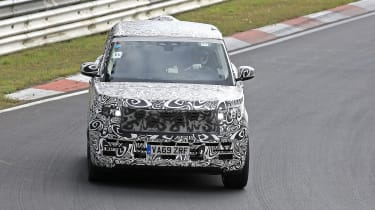 2022 Range Rover - front on view