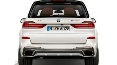 BMW X7 M50i rear static