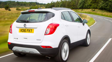 An updated version of the Mokka, the Mokka X has an updated design and improved interior