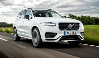 Volvo XC90 Recharge driving