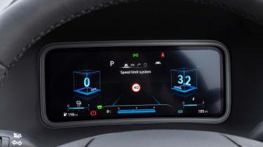 Hyundai Kona Electric SUV instrument cluster