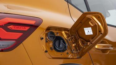 New Dacia Sandero Stepway - LPG and petrol filler caps