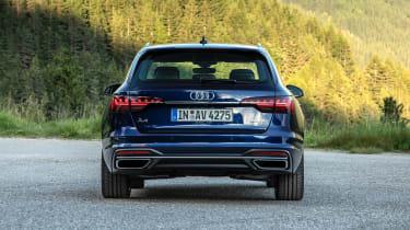 Audi A4 Avant estate rear static