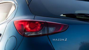 Mazda2 tail-light