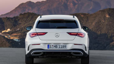 2019 Mercedes CLA Shooting Brake - rear close