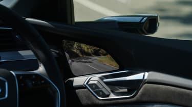 Audi e-tron Sportback SUV rear view screen