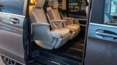 Mercedes V-Class MPV Exclusive seating