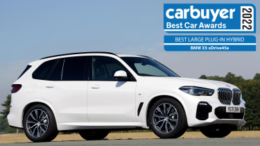 Best Large Plug-in Hybrid: BMW X5 xDrive45e