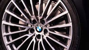 BMW 7 Series saloon - front wheel close up