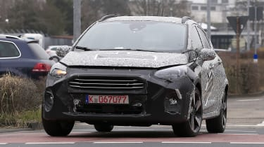 2021 Ford Fiesta in development - front