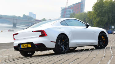 Polestar 1 coupe rear 3/4 slipway