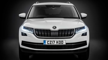 It's based on the same underpinnings as the Volkswagen Tiguan, but it's still unmistakably a Skoda