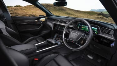 Audi e-tron Sportback SUV dashboard