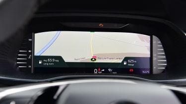 Skoda Octavia hatchback Virtual Cockpit navigation