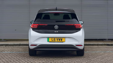2021 Volkswagen ID.3 Tour pro - rear on static