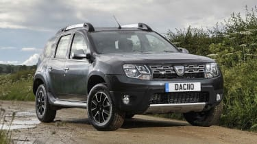 Top-spec Prestige Dusters come with sat nav and other extras, but this trim is harder to justify