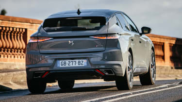DS 4 driving rear