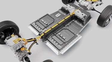 Volvo XC40 Recharge battery