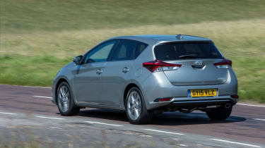 Handsome rather than exciting-looking, that's the Auris