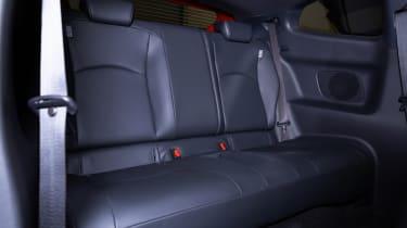 Toyota GR Yaris hatchback rear seats
