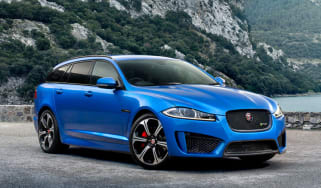 Jaguar XFR-S Sportbrake front static