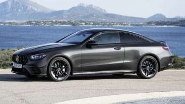 Mercedes-AMG E 53 Coupe side view