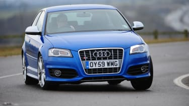 Audi S3 - front 3/4 driving