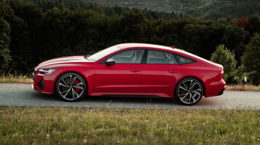 Audi RS7 static - side view