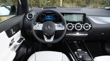 Mercedes EQA SUV review interior
