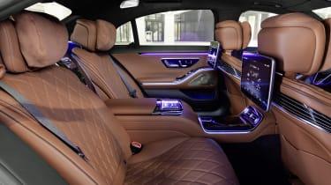 2020 Mercedes S-Class - rear seats