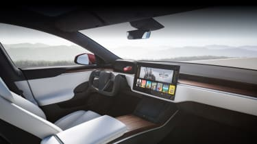 2021 Tesla Model S Plaid - interior