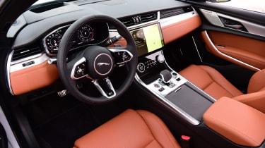 Jaguar XF saloon dashboard
