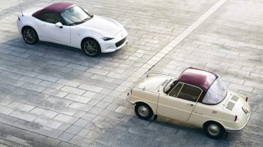 Mazda MX-5 100th Anniversary and Mazda R360