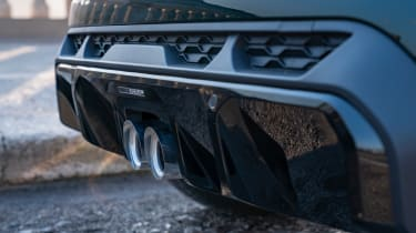 MINI John Cooper Works hatchback - rear diffuser