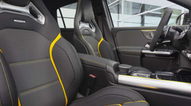 Mercedes-AMG GLA 45 S SUV front seats