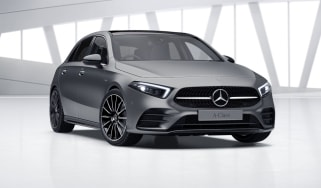 2020 Mercedes A-Class Exclusive Edition and Exclusive Edition Plus - front 3/4 static