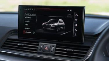 Audi Q5 screen