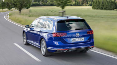 Volkswagen Passat Estate R-Line rear 3/4 tracking