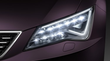 SEAT Leon LED headlight