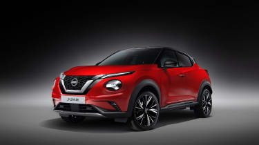 New Nissan Juke in red