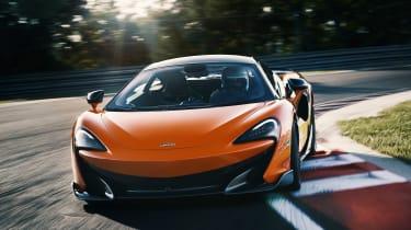 McLaren 600LT front cornering